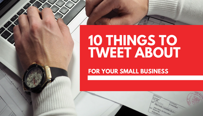 Twitter post ideas: 10 things to tweet about