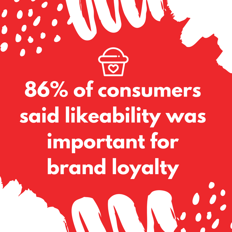 Customer loyalty: likeability is an important factor
