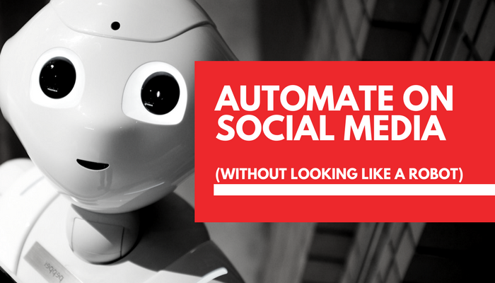 Automate on social media without looking like a robot