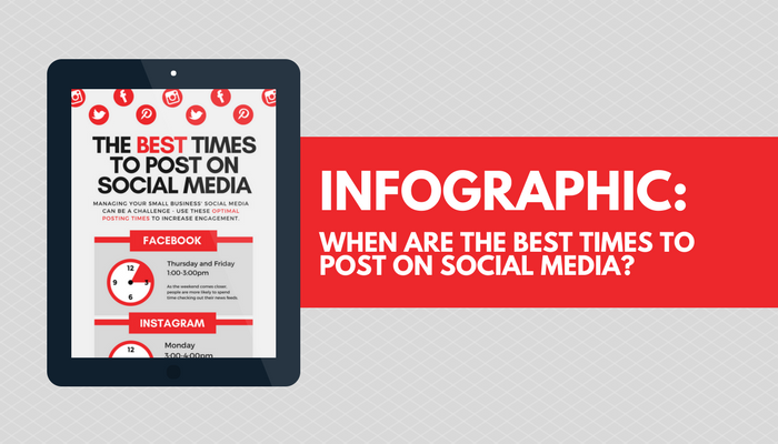When are the best times to post on social media?
