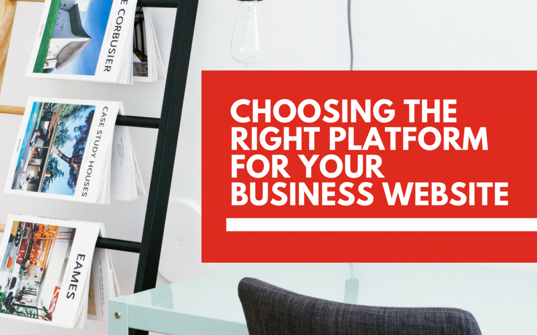 How to pick the right website platform for your business