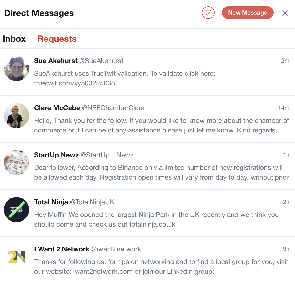 Nobody wants to sift through hundreds of automated direct messages
