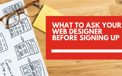 What to ask a web designer before signing up for a plan