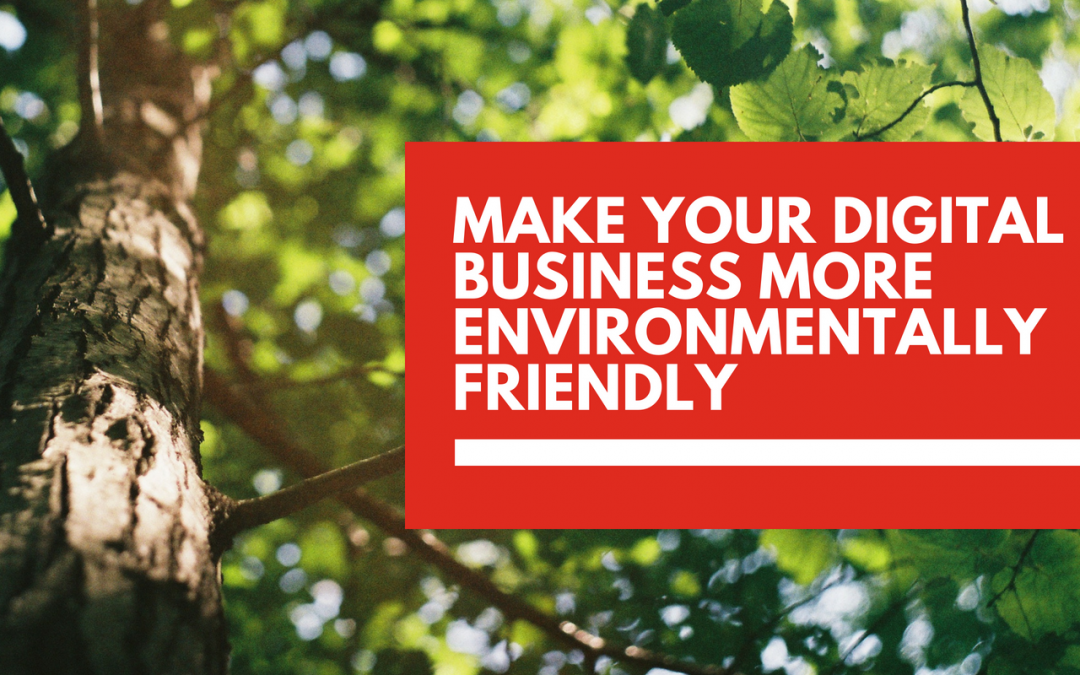How to make your digital business more environmentally-friendly 🍃
