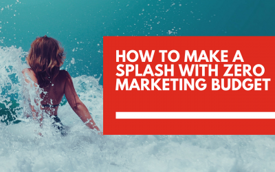 How to make a splash 💦 with zero marketing budget