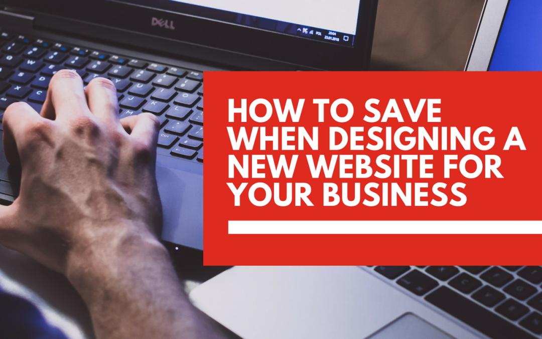 5 ways to save money when launching a website for your business