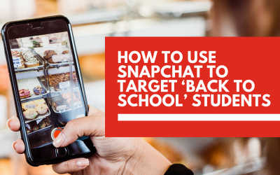 How to use Snapchat to target 'back to school' students