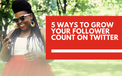 5 ways to grow your follower count on Twitter