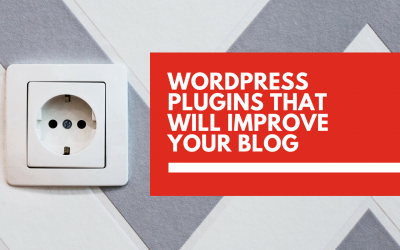 5 WordPress plugins that will improve your blog
