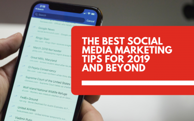 Social media marketing tips for 2019 and beyond