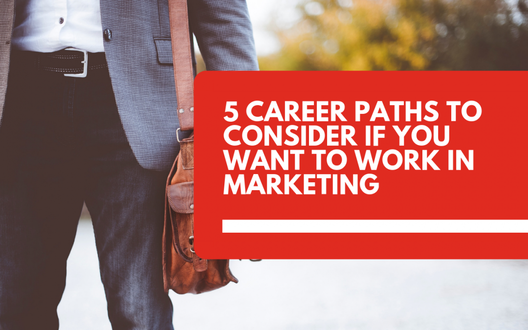 5 career paths to consider if you want to work in marketing