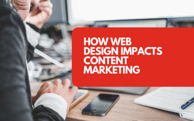 How web design impacts content marketing